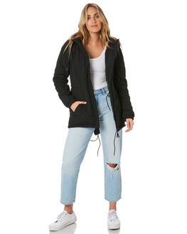 BLACK WOMENS CLOTHING O'NEILL JACKETS - 5921509BLACK