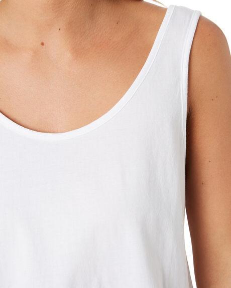 WHITE WOMENS CLOTHING RIP CURL SINGLETS - GTEIA91000