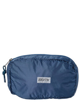 WASHED NAVY MENS ACCESSORIES BRIXTON BAGS - 05248WANAV