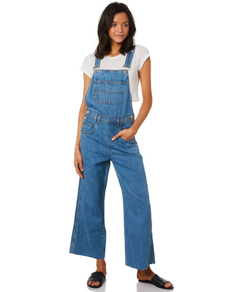 CRUSH BLUE WOMENS CLOTHING INSIGHT PLAYSUITS + OVERALLS - 5000003452BLU