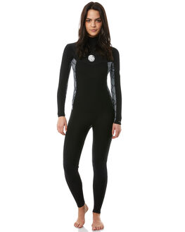 BLACK WHITE SURF WETSUITS RIP CURL STEAMERS - WSM8KS0431
