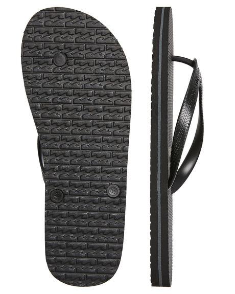 BLACK BLACK MENS FOOTWEAR BILLABONG THONGS - 9681939BKBK