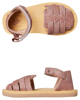 ROSE GOLD KIDS GIRLS REEF FASHION SANDALS - A32XKRSE