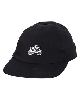 BLACK MENS ACCESSORIES NIKE HEADWEAR - AV7884010