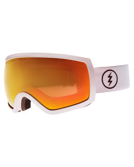 GLOSS WHT BROSE RD SNOW ACCESSORIES ELECTRIC GOGGLES - EG0716605BRRD