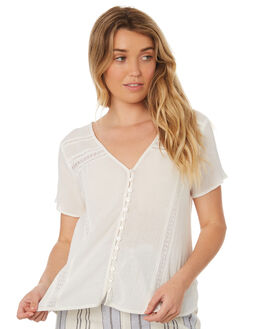 OFF WHITE WOMENS CLOTHING RIP CURL FASHION TOPS - GSHEV10003