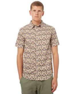 OLIVE MENS CLOTHING RHYTHM SHIRTS - OCT17M-WT05-OLI