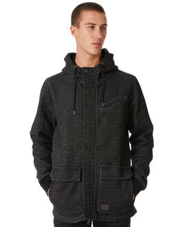 BLACK MENS CLOTHING VOLCOM JACKETS - A5811801BLK