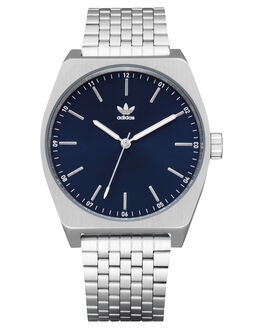 SILVER NAVY SUNRAY MENS ACCESSORIES ADIDAS WATCHES - Z02-2928-00SNVYS