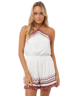 MULTI WOMENS CLOTHING SOMEDAYS LOVIN PLAYSUITS + OVERALLS - IL18S1477MULTI