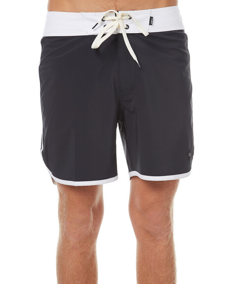 NAVY WHITE OUTLET MENS SWELL BOARDSHORTS - S5162237NVWH