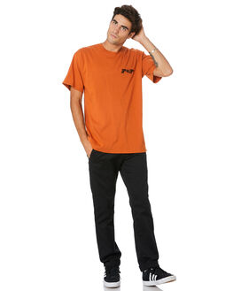 TEXAS ORANGE MENS CLOTHING PASS PORT TEES - PPPPPTEETEXOG
