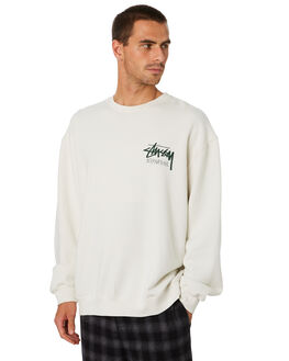 WHITE SAND MENS CLOTHING STUSSY JUMPERS - ST006202WTSND
