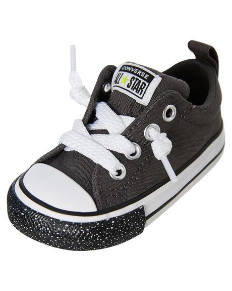 CARBON GREY KIDS BOYS CONVERSE FOOTWEAR - 766028CCGRY
