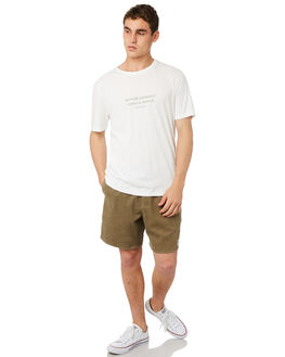 OLIVE MENS CLOTHING RHYTHM SHORTS - OCT18M-JM03-OLI