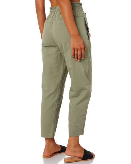 LIGHT OLIVE WOMENS CLOTHING THE HIDDEN WAY PANTS - H8202191LTOLV