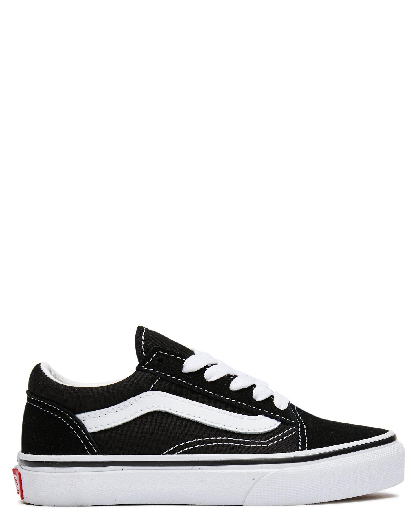Vans Old Skool Shoe - Youth - Black