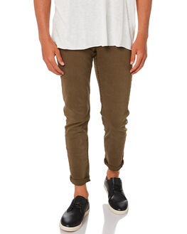 KHAKI MENS CLOTHING ACADEMY BRAND PANTS - 20W101KHA