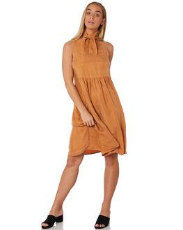 BUCKWHEAT WOMENS CLOTHING SANCIA DRESSES - 816ABUCK