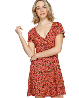 MINERAL YELLOW WOMENS CLOTHING ELEMENT DRESSES - EL-293861-MYW