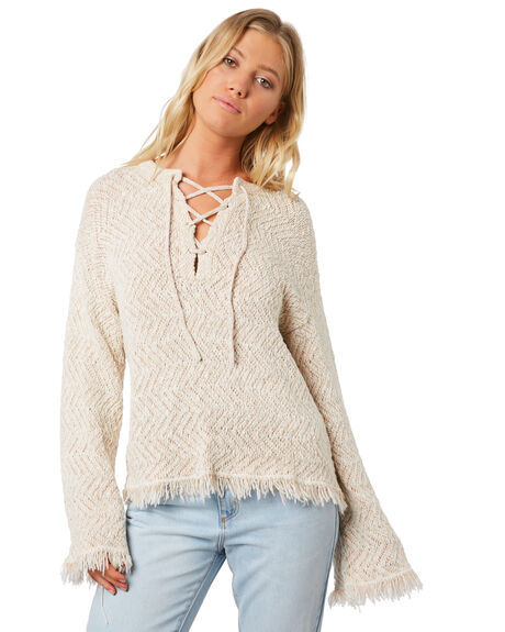 WHITE CAP WOMENS CLOTHING BILLABONG KNITS + CARDIGANS - 65957911WC