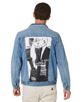 KEEP ME UP MENS CLOTHING A.BRAND JACKETS - 81279B4432
