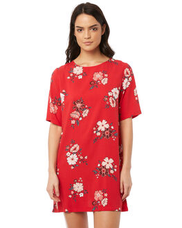 SENTENA PRINT WOMENS CLOTHING ALL ABOUT EVE DRESSES - 6415016PRNT