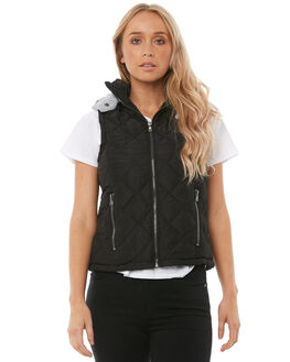 BLACK WOMENS CLOTHING ALL ABOUT EVE JACKETS - 6413037BLK