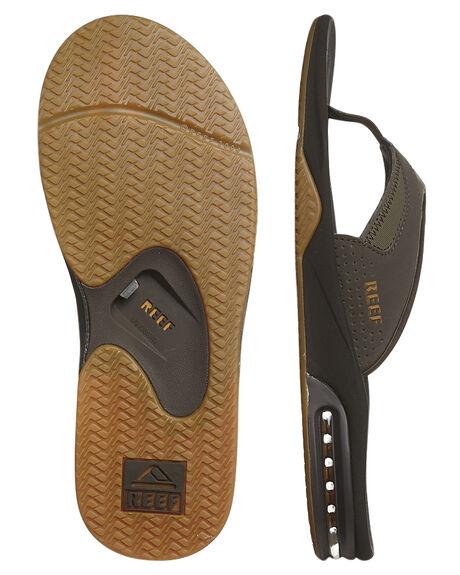 BROWN GUM MENS FOOTWEAR REEF THONGS - 2026BGM