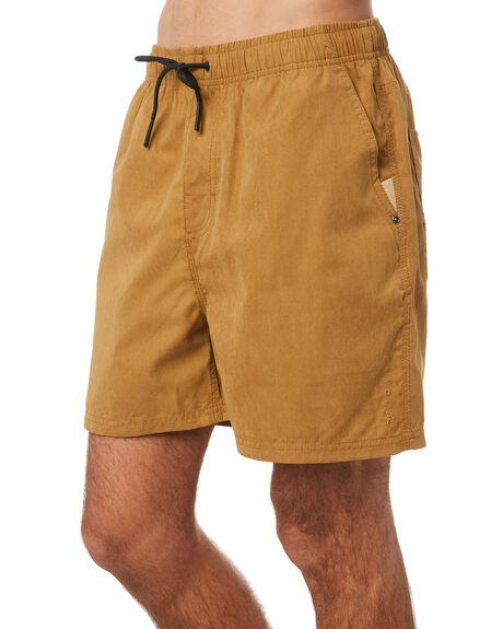 KHAKI MENS CLOTHING RUSTY SHORTS - WKM450KHA