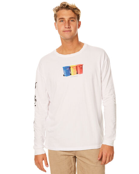 WHITE MENS CLOTHING RUSTY TEES - TTM1845WHT