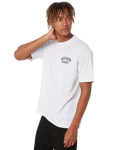 WHITE MENS CLOTHING RUSTY TEES - TTM2648WHT