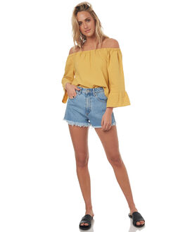 ANTIQUE GOLD WOMENS CLOTHING BILLABONG FASHION TOPS - 6572099A61