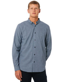 NAVY MENS CLOTHING ACADEMY BRAND SHIRTS - 19W814NVY