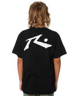 BLACK KIDS BOYS RUSTY TOPS - TTB0604BLK