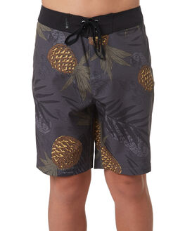 BLACK KIDS BOYS HURLEY BOARDSHORTS - AO2222010