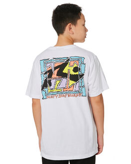 WHITE KIDS BOYS RUSTY TOPS - TTB0620WHT
