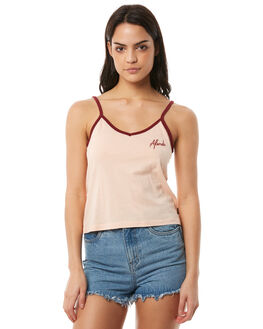WASHED PEACH WOMENS CLOTHING AFENDS FASHION TOPS - W181089WPCH