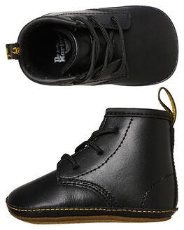 BLACK KID LAMPER KIDS BOYS DR. MARTENS FOOTWEAR - SS15329001BLKB