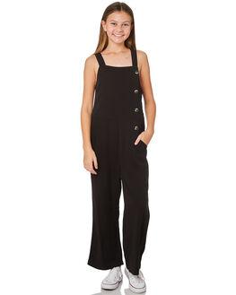 BLACK KIDS GIRLS EVES SISTER DRESSES + PLAYSUITS - 9520077BLK