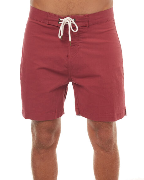 RUSTY MENS CLOTHING MCTAVISH BOARDSHORTS - MS-17BS-03RUST