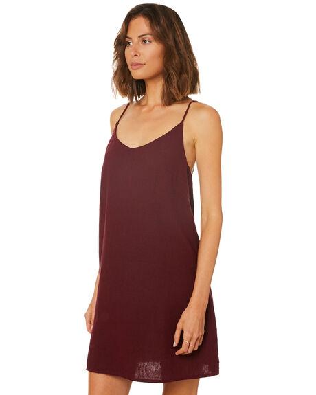 RUBY WINE WOMENS CLOTHING BILLABONG DRESSES - 6572476RW2