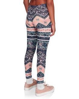 DRESS BLUES NEWPORT KIDS GIRLS ROXY PANTS - ERGNP03050-BTK7