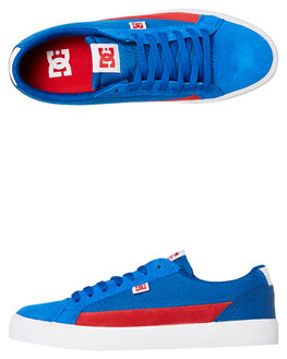 BLUE RED MENS FOOTWEAR DC SHOES SNEAKERS - ADYS300489BR