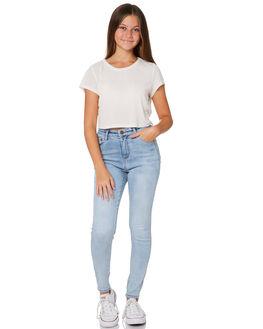 DENIM KIDS GIRLS SWELL PANTS - S6203191DENIM