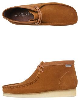 BROWN COMBI MENS FOOTWEAR CLARKS ORIGINALS BOOTS - SS26146193BROM