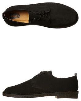 BLACK MENS FOOTWEAR CLARKS ORIGINALS FASHION SHOES - SS146284BLKM