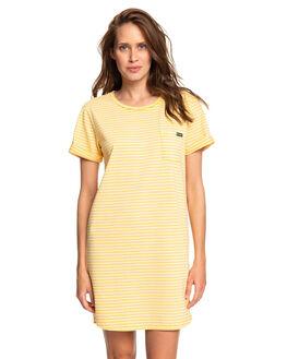GOLDEN GLOW MARINA WOMENS CLOTHING ROXY DRESSES - ERJKD03265-XYYW