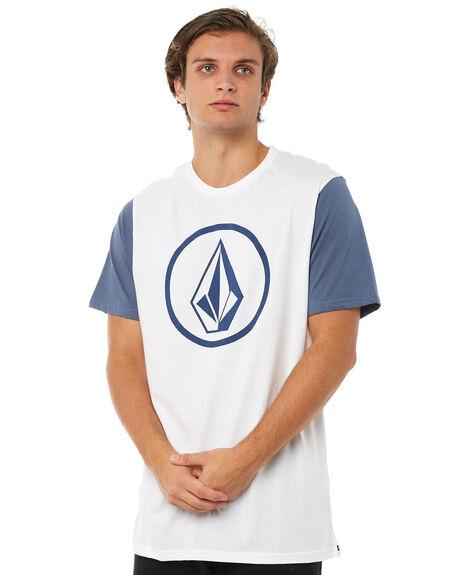 WHITE MENS CLOTHING VOLCOM TEES - A5011872WHT