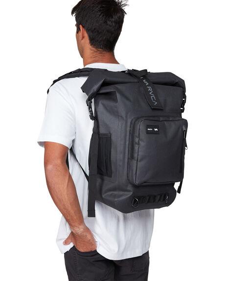 BLACK MENS ACCESSORIES RVCA BAGS + BACKPACKS - RV-R307451-BLK